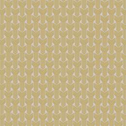 Tissu tresses jaune beige - 64