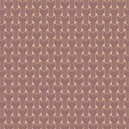 Tissu tresses violet beige - 64