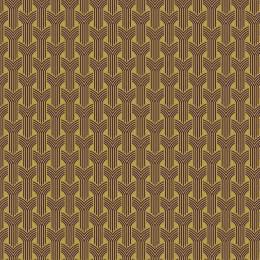 Tissu tresses violet jaune - 64
