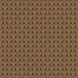 Tissu tresses jaune violet - 64