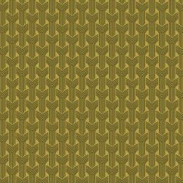 Tissu tresses kaki jaune - 64