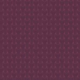 Tissu tresses aubergine violet - 64
