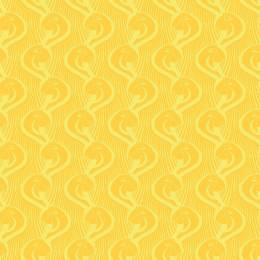 Tissu gamme ara jaune - 64