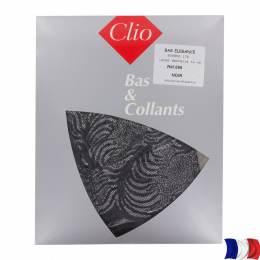 Bas dentelle(noir/argent)15cm t1/2 noir - 66