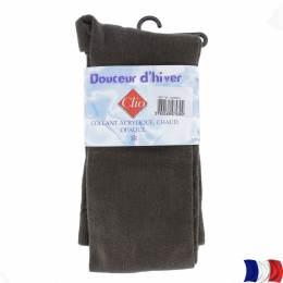Collant douceur d'hiver t1 marron - 66