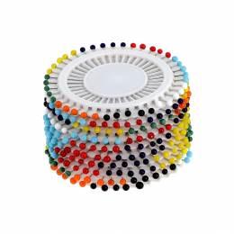 Épingle tête verre - disque x 40 - 70