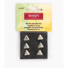 Motif décoration triangle 10mm-6-nick - 70
