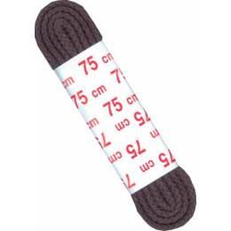 Lacets chaussure cordon marron 75cm 1 paire - 70