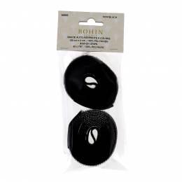 Bande agripp/coudre noir 150x2cm - 70