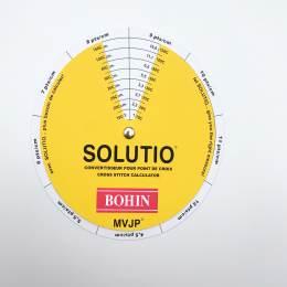 Solutio convertisseur cm point de croix - 70