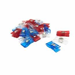 Pince magique bleu/blanc/rouge 32x18 100pièces - 70