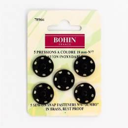 Bouton pressionx5 18mm noir7 - 70