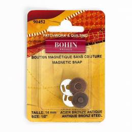 Bout magnet s/cout bronz 14mm - 70