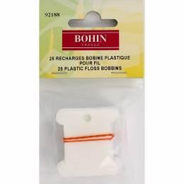 Bobinettes plastique s/susp x25 - 70