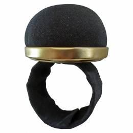 Bracelet porte épingles noire auto ajustable - 70