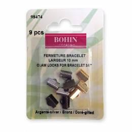 Fermeture bracelet 10mm doré/nickelé/bronze - 70