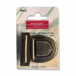 Fermeture cartable bronze - 70