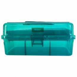 Boîte à couture bleu canard - 70