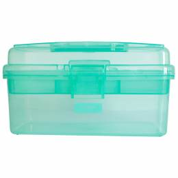 Boîte à couture vert lagon - 70
