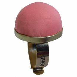 Bracelet porte épingles doré et rose clair - 70