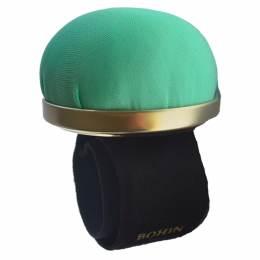 Bracelet porte épingles ajustable vert - 70