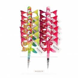 Présentoir de ciseaux licorne 2 designs x12 - 70