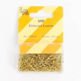 Épingle laiton dorée 14mm-600- - 70