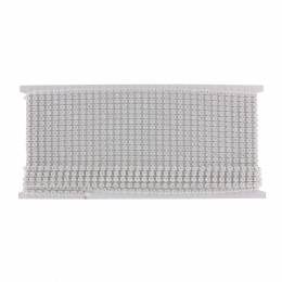 Galon strass -9m- 4mm support blanc - 70