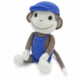 Kit crochet HardiCraft - bryan le singe - 81