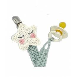 Kit crochet HardiCraft - attache tétine étoile - 81
