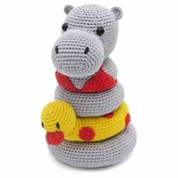Kit crochet HardiCraft - helga l'hippopotame - 81