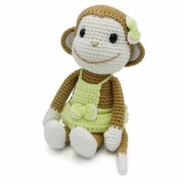 Kit crochet HardiCraft - nikki le singe - 81
