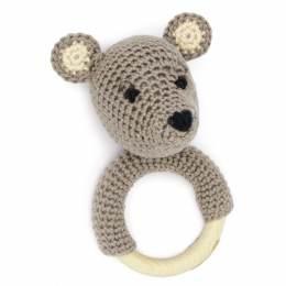Kit crochet HardiCraft - anneau de dentition ours - 81