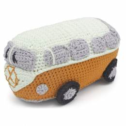Kit crochet HardiCraft - van rétro orange - 81
