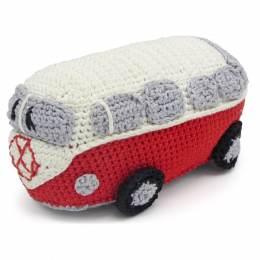 Kit crochet HardiCraft - van rétro rouge - 81