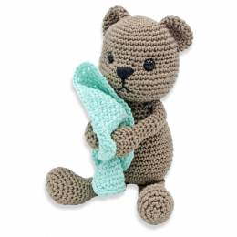 Kit crochet HardiCraft - tibbe l'ours assis - 81