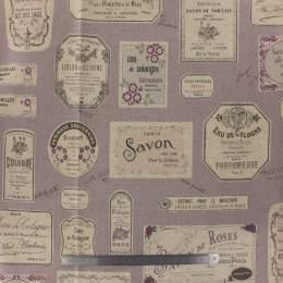 Tissu Yuwa 80% coton 20% lin étiquette couture - 82
