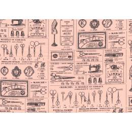 Tissu Yuwa esprit couture 100% coton - 82