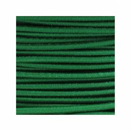 Cordon rond élastique 3mm vert f