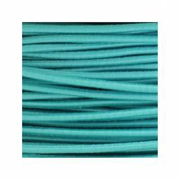 Cordon rond élastique 3mm vert cl