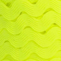 Serpentine jaune fluo 100% polyester