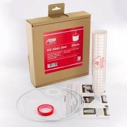 Kit de fabrication d'abat-jour cylindre diam 20cm - 86