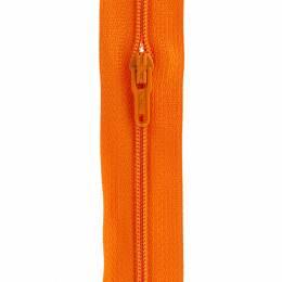 Fermeture fine nylon 4mm + 3 curseurs/m orange - 91