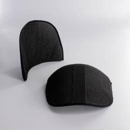 Épaulette bande auto aggripante noire n°4 - 93