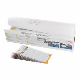 Vliesofix Vlieseline boîte dérouleur 45cm blanc - 96