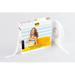 Flexibel droit fil souple blanc 1,5cm/50m - 96