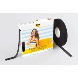 Flexibel droit fil souple noir 1,5cm/50m - 96