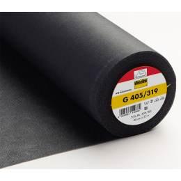 Entoilage Vlieseline souple thermo 90cm anthracite - 96