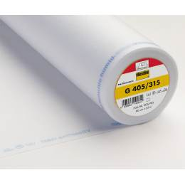 Entoilage Vlieseline souple thermo 90cm blanc - 96