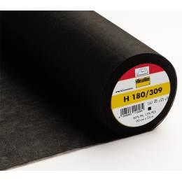 Entoilage Vlieseline extra léger thermo 90cm noir - 96